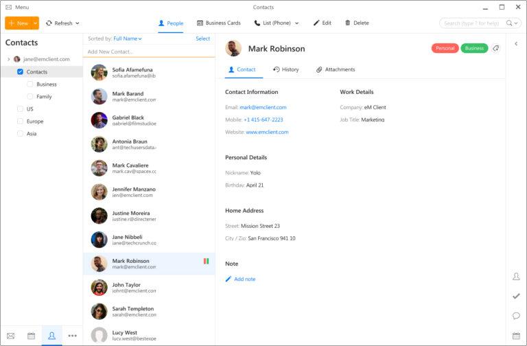 Software para E-mail 5